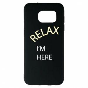 Etui na Samsung S7 EDGE Relax. I'm here