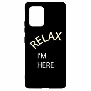 Etui na Samsung S10 Lite Relax. I'm here