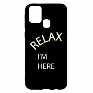 Etui na Samsung M31 Relax. I'm here