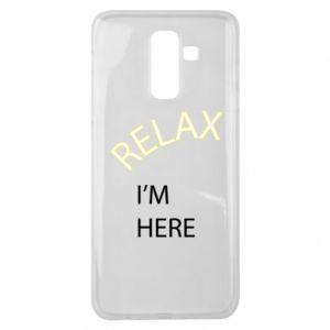 Etui na Samsung J8 2018 Relax. I'm here