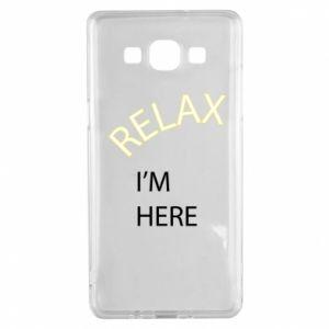 Etui na Samsung A5 2015 Relax. I'm here