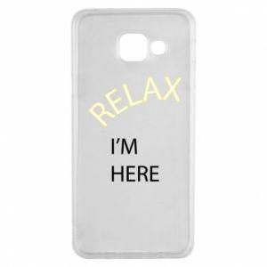Etui na Samsung A3 2016 Relax. I'm here
