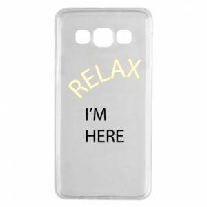 Etui na Samsung A3 2015 Relax. I'm here