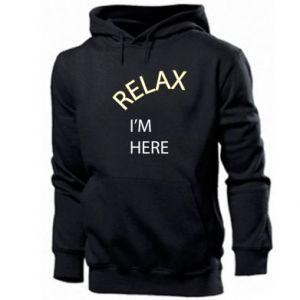 Bluza z kapturem męska Relax. I'm here