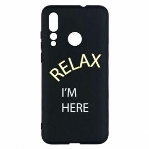 Etui na Huawei Nova 4 Relax. I'm here