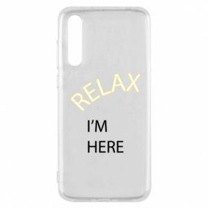 Etui na Huawei P20 Pro Relax. I'm here