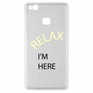 Etui na Huawei P9 Lite Relax. I'm here