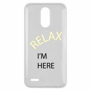 Etui na Lg K10 2017 Relax. I'm here