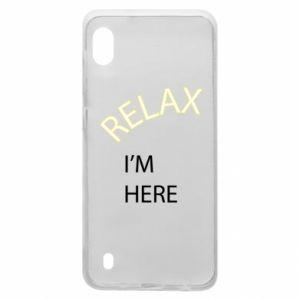 Etui na Samsung A10 Relax. I'm here