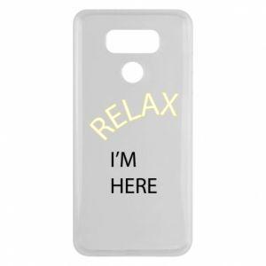 Etui na LG G6 Relax. I'm here