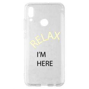 Etui na Huawei P Smart 2019 Relax. I'm here