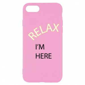 Etui na iPhone SE 2020 Relax. I'm here
