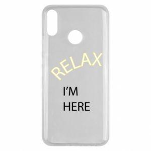 Etui na Huawei Y9 2019 Relax. I'm here