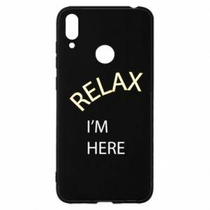 Etui na Huawei Y7 2019 Relax. I'm here