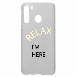 Etui na Samsung A21 Relax. I'm here