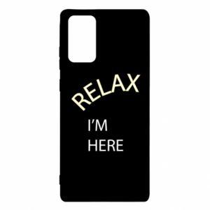 Etui na Samsung Note 20 Relax. I'm here