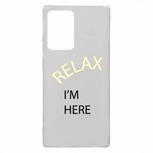 Etui na Samsung Note 20 Ultra Relax. I'm here