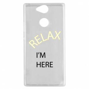 Etui na Sony Xperia XA2 Relax. I'm here