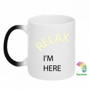 Kubek-kameleon Relax. I'm here
