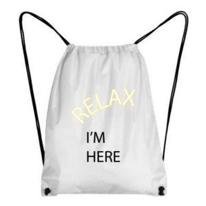Plecak-worek Relax. I'm here