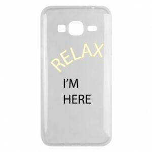 Etui na Samsung J3 2016 Relax. I'm here