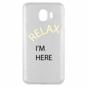 Etui na Samsung J4 Relax. I'm here