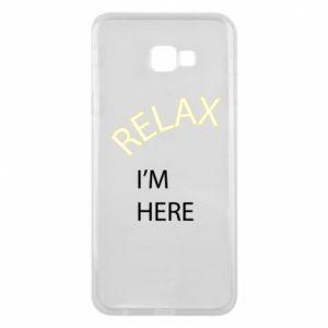 Etui na Samsung J4 Plus 2018 Relax. I'm here