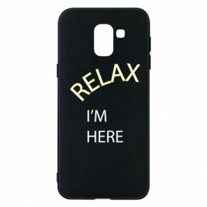 Etui na Samsung J6 Relax. I'm here