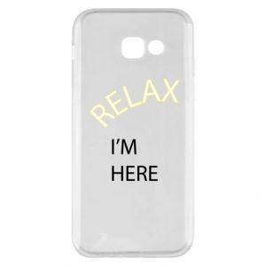 Etui na Samsung A5 2017 Relax. I'm here