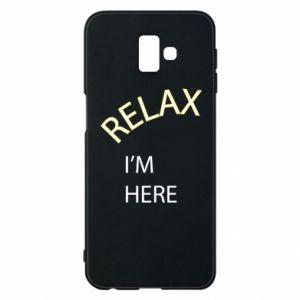 Etui na Samsung J6 Plus 2018 Relax. I'm here