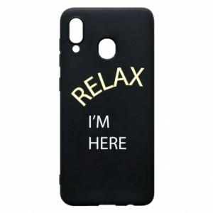 Etui na Samsung A30 Relax. I'm here
