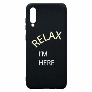 Etui na Samsung A70 Relax. I'm here