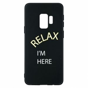 Etui na Samsung S9 Relax. I'm here