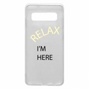 Etui na Samsung S10 Relax. I'm here