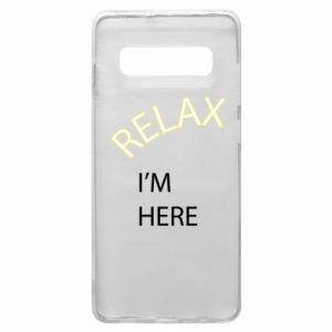 Etui na Samsung S10+ Relax. I'm here