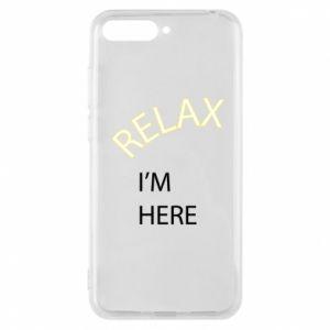 Etui na Huawei Y6 2018 Relax. I'm here