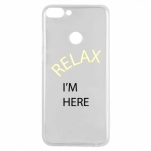 Phone case for Huawei P Smart Relax. I'm here
