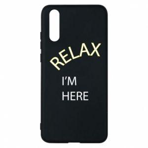 Etui na Huawei P20 Relax. I'm here