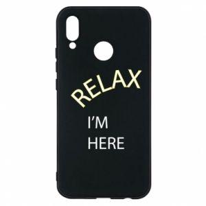 Etui na Huawei P20 Lite Relax. I'm here