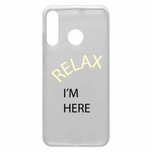 Etui na Huawei P30 Lite Relax. I'm here