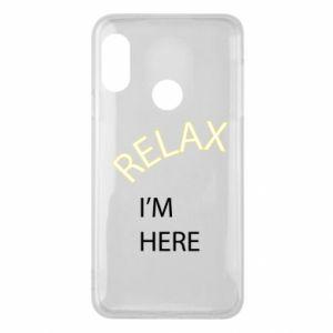 Etui na Mi A2 Lite Relax. I'm here