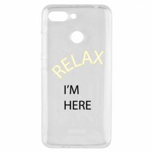 Etui na Xiaomi Redmi 6 Relax. I'm here