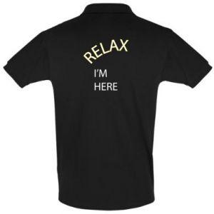 Koszulka Polo Relax. I'm here