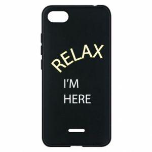 Etui na Xiaomi Redmi 6A Relax. I'm here