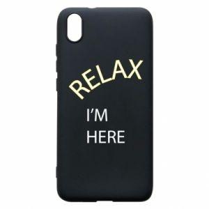 Etui na Xiaomi Redmi 7A Relax. I'm here