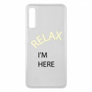 Etui na Samsung A7 2018 Relax. I'm here