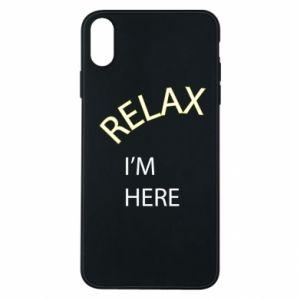 Etui na iPhone Xs Max Relax. I'm here