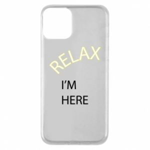 Etui na iPhone 11 Relax. I'm here