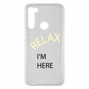Etui na Xiaomi Redmi Note 8 Relax. I'm here