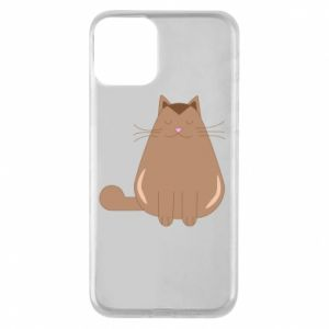 Etui na iPhone 11 Relaxing cat